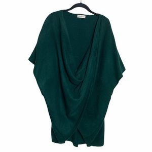 Anthropologie over size twist cocoon sweater